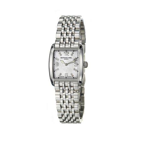 Raymond Weil Women's Don Giovanni Stainless Steel Case and Bracelet Diamond Quartz Watch