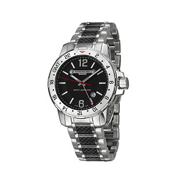 Raymond Weil Men S Nabucco Stainless Steel And Black