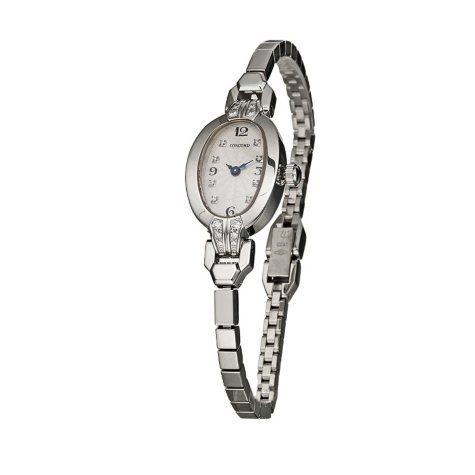 Concord Women's Soiree 18K White Gold Case and Bracelet Diamond Quartz Watch