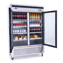 Atosa Reach-In Glass Door Refrigerator (2 Door)