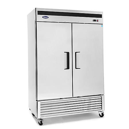 Atosa Upright 2-Door Reach-In Refrigerator