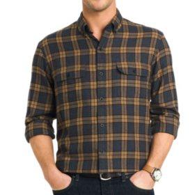 G.H. Bass & Co. Grafton Lodge Men's Plaid Woven Shirt