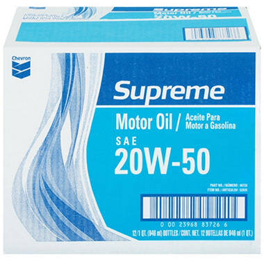 Chevron® Supreme Motor Oil