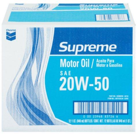 Chevron® Supreme Motor Oil