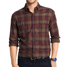 G.H. Bass & Co. Grafton Lodge Men's Plaid Woven Shirt