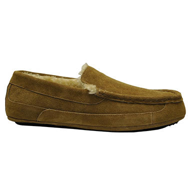 Mens Leather Slipper - Various Colors