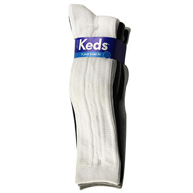 Keds Knee High Socks - 5 pk.
