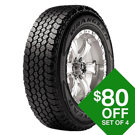 Goodyear Wrangler A-T Adventure - 265/70R16 112T Tire