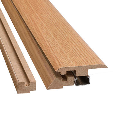 SimpleSolutions™ Four-in-One Molding - Vintage White Oak - 78.75