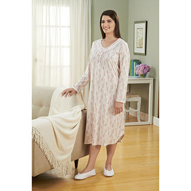 Miss Elaine Knit Night Gown - Various Colors