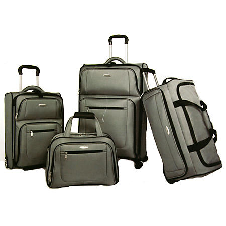 LUGGAGE SET 4 PIECE 360 DELUXE