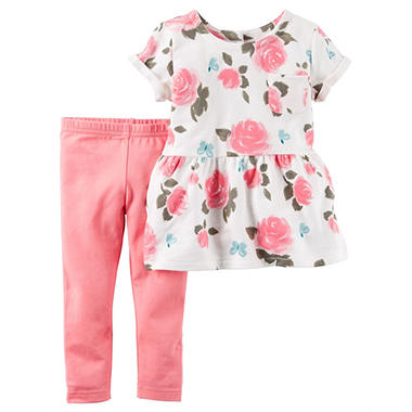 Carter's Girls' 2-Piece Playwear Set