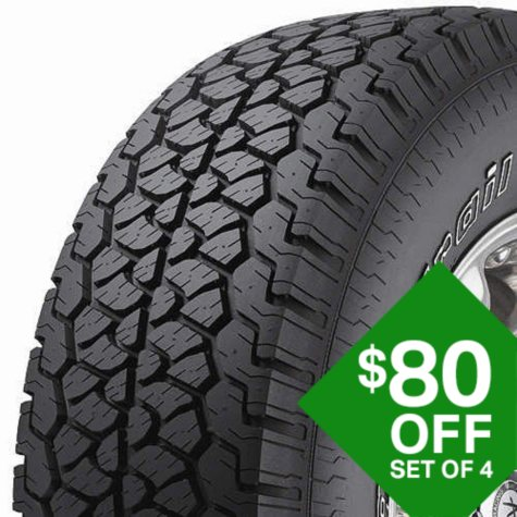 BFGoodrich Rugged Trail T/A - P275/65R18 114T Tire