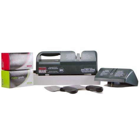 Master Grade Heavy Duty Commercial Knife Sharpener - Instant Savings