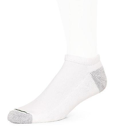 Burlington Men's 10 Pair Pack Comfort Power No Show Sport Sock (Assorted Colors)