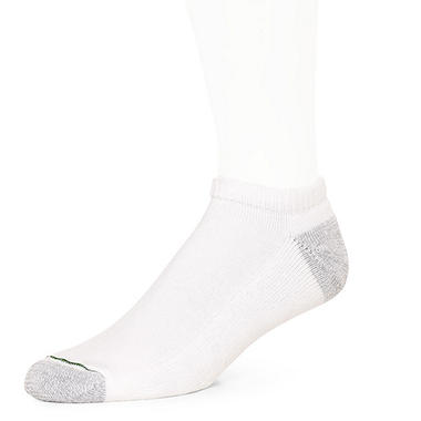 Burlington Men's 10 Pair Pack Comfort Power No Show Sport Sock (Assorted Colors)