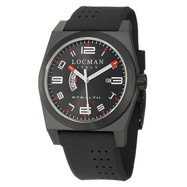 Locman Men's Sport Black Quartz Watch