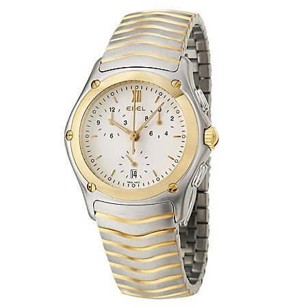 Ebel Men's Classic Wave 18K Yellow Gold Quartz Watch