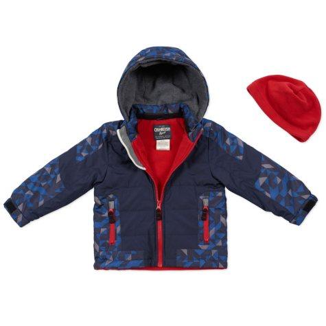 OshKosh Boys' Coat Color-Blocked Active Jacket