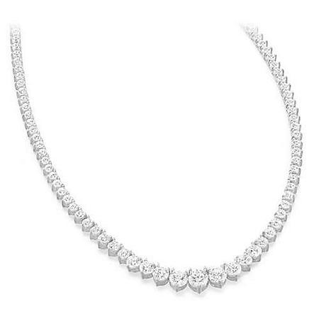 10 ct. t.w. Riviera Diamond Necklace (G-H, SI2-I1)