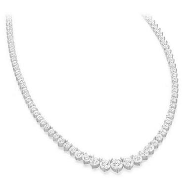 15 ct. t.w. Riviera Diamond Necklace (G-H, SI2-I1)