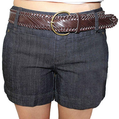 One 5 One Women's Braided Belted Short