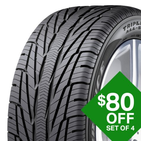 Goodyear Assurance TripleTred All-Season - 195/65R15 91H Tire