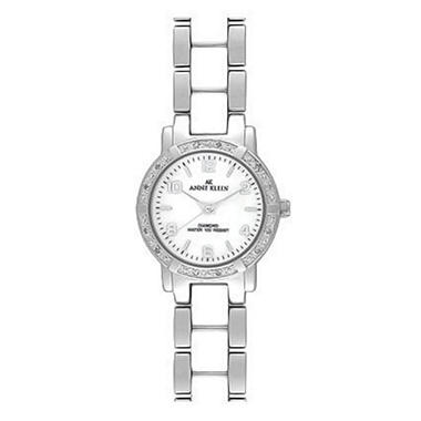AK by Anne Klein White Ceramic Bracelet Watch