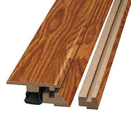 SimpleSolutions™ Four-in-One Molding - Tropical Bamboo; 78.75 In. Long