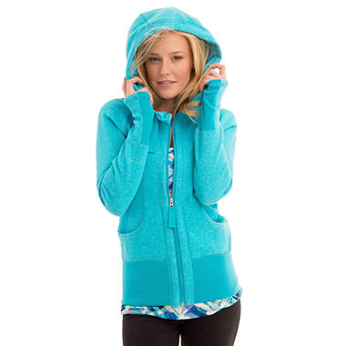 Active Life Fleece Full Zip Hoodie (Assorted Colors)