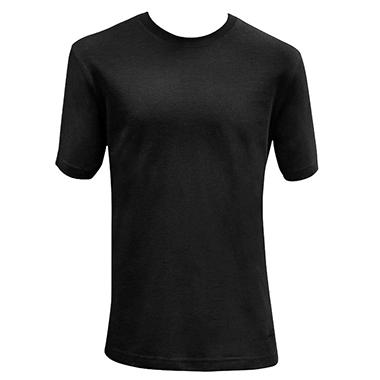 BASIC TEE BLACK M IN-CLUB ITEM#254861