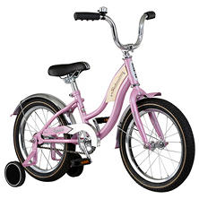 "Kids' 16"" Pink Schwinn Roadster Bicycle"