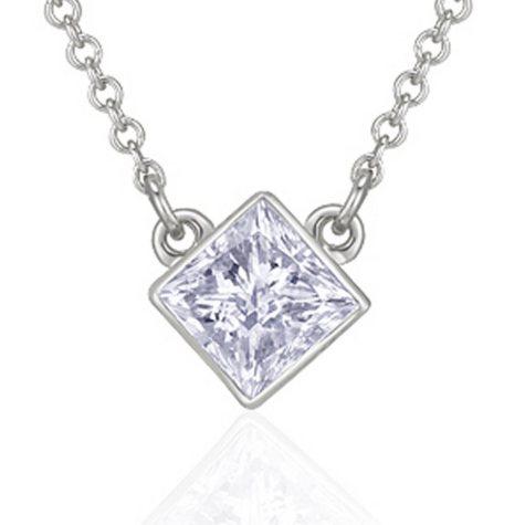 .50 ct. Princess Diamond Solitaire Pendant (H-I, I1)