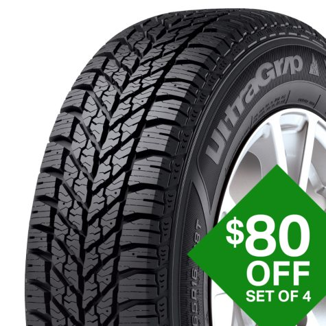 Goodyear Ultra Grip Winter - 235/55R18 100T Tire