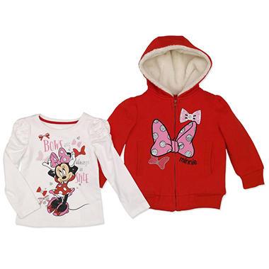 9478b3c0b2ee Disney s Minnie Mouse Jacket and T-Shirt Set - Sam s Club