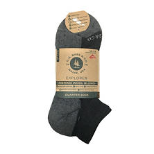 GH Bass 3-Pair Pack Wool Quarter Sock