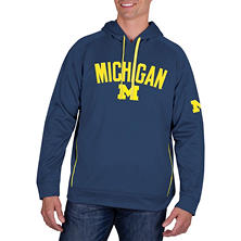Michigan Wolverines, Men's NCAA Pullover Hood Fleece