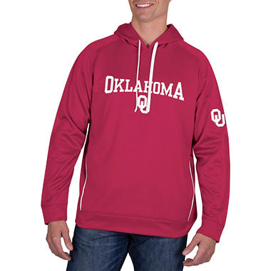 Oklahoma Sooners, Men's NCAA Pullover Hood Fleece