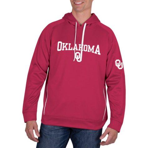 Oklahoma Sooners, Men's NCAA Pullover Hood Fleece