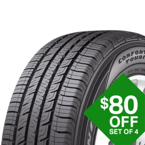 Goodyear Assurance ComforTred Touring - 205/50R17 89V  Tire