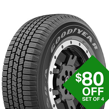 Goodyear Wrangler Sr A P265 70r18 114s Tire Sam S Club