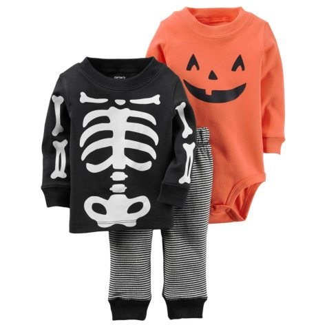 Carter's Halloween 3-Piece Bodysuit Pant Set