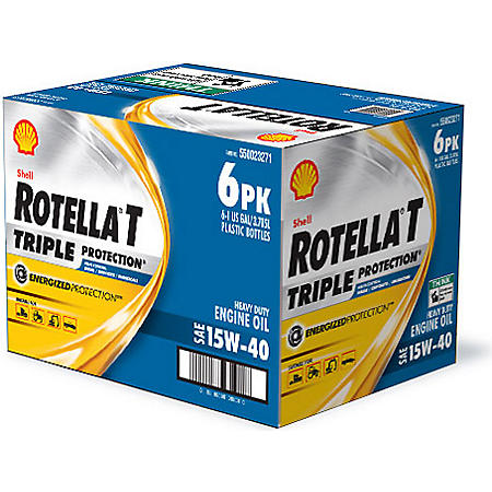 Rotella® 15W-40 Heavy Duty Motor Oil