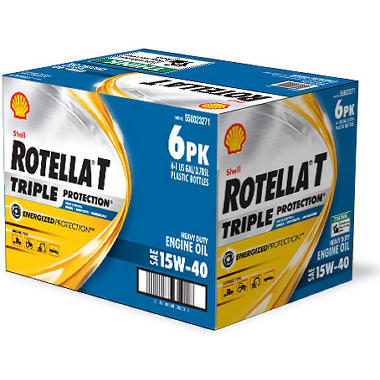 Rotella® 15W-40 Heavy Duty Motor Oil