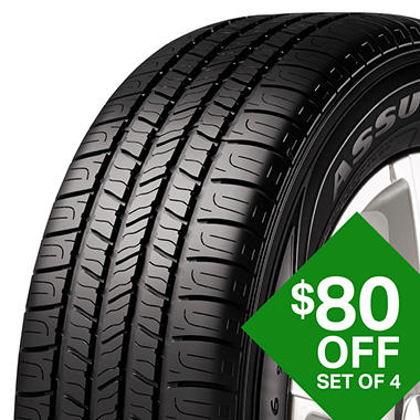 Goodyear Assurance All Season 205 55r16 91h Tire Sam S Club