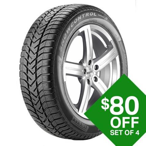 Pirelli 210 SnowControl 3 - 195/50R16XL 88H Tire