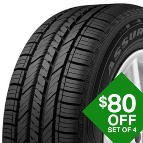 Goodyear Assurance Fuel Max - P205/55R16 89H  Tire