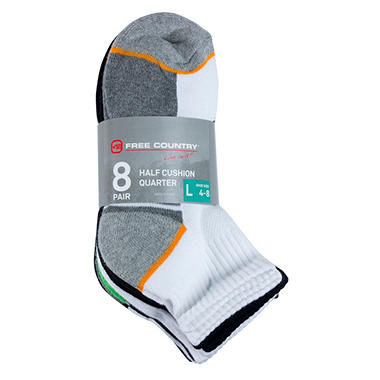 Free Country Boys' Quarter Sock