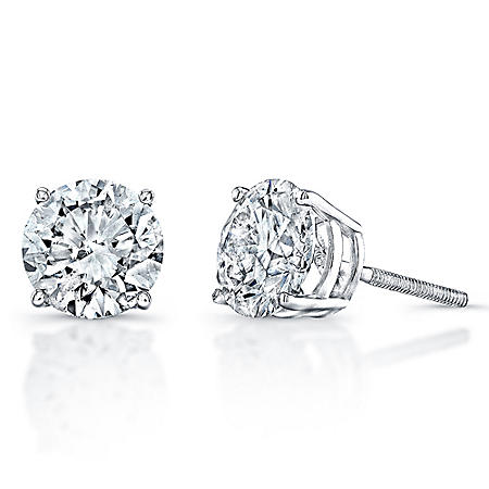 .33 ct. t.w. Diamond Stud Earrings in 14K White Gold (H-I, SI2-I1)