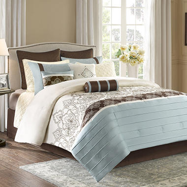 Temsia 12-Piece Bedding Set - Various Size and Colors